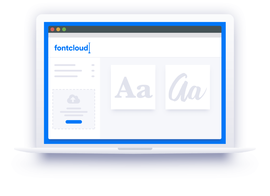 Fontcloud Big Mockup