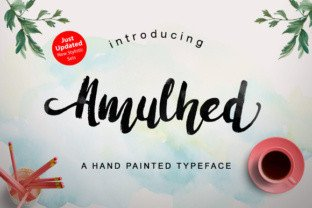 Amulhead Brush by Barland Font Subscription 1