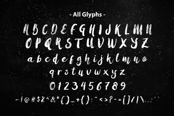Print on Demand: Amulhed Brush Script & Handwritten Font By barland - Image 2
