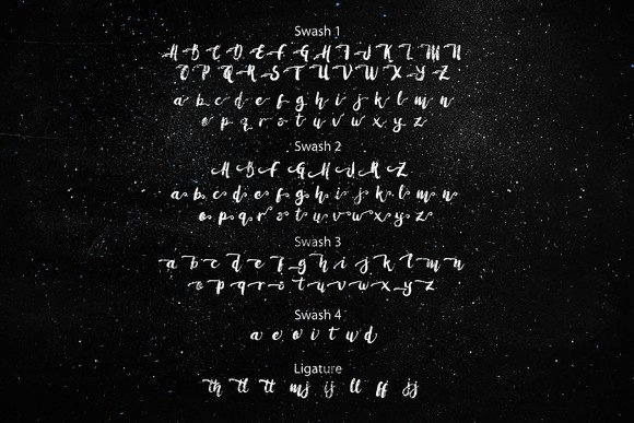 Print on Demand: Amulhed Brush Script & Handwritten Font By barland - Image 3