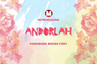 Andorlah Font By Only The Originals