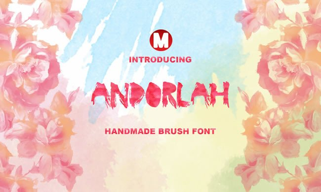 Print on Demand: Andorlah Display Font By Only The Originals - Image 1
