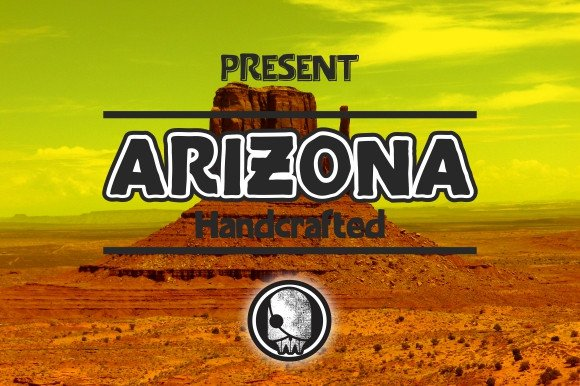 Arizona Family Font By Ijem RockArt