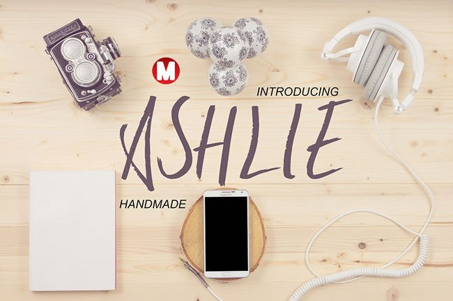 Ashlie Font By Only The Originals