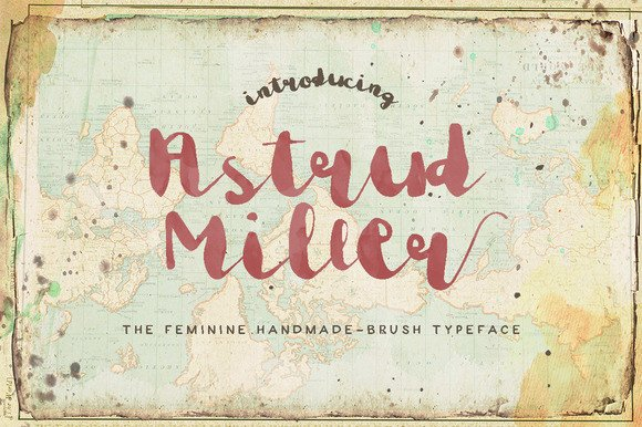 Astrud Miller Font By Blue Robin Design Shop Image 1