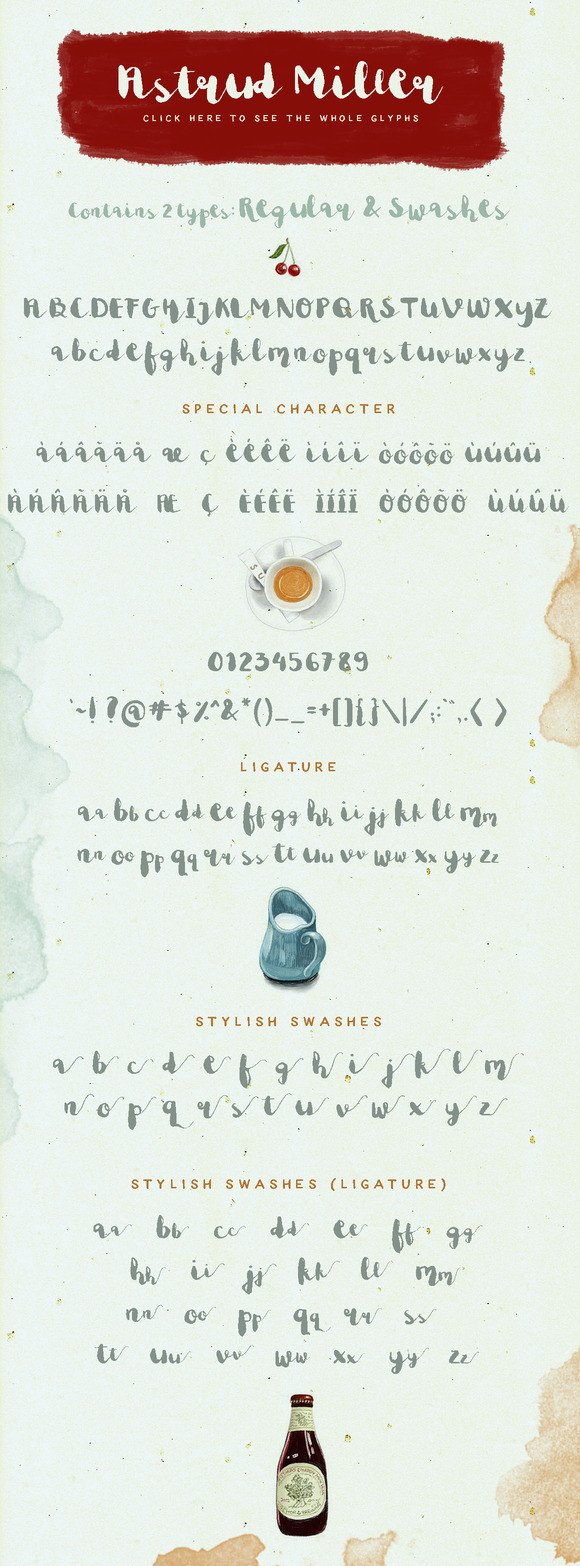Astrud Miller Font By Blue Robin Design Shop Image 2