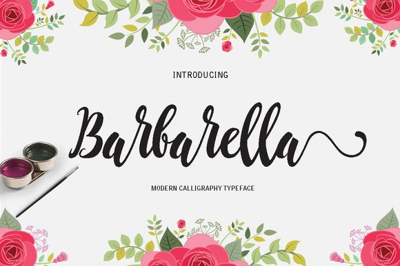 Print on Demand: Barbarella Script & Handwritten Font By Danti