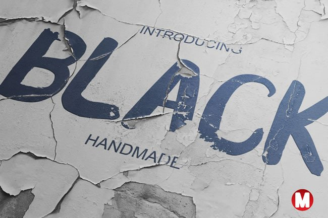 Download Free Black Font By Only The Originals Creative Fabrica for Cricut Explore, Silhouette and other cutting machines.