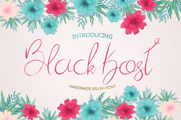 Print on Demand: Blackkost Script & Handwritten Font By Only The Originals