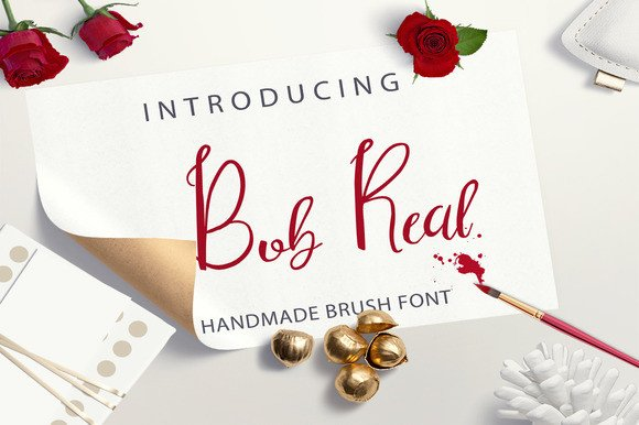 Print on Demand: Bob Real Script & Handwritten Font By Only The Originals