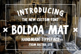 Boldoa Mat Font Subscription Bundle 1