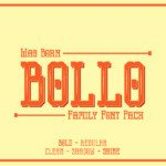 Bollo Font by Dikas Studio in Font Subscription 1