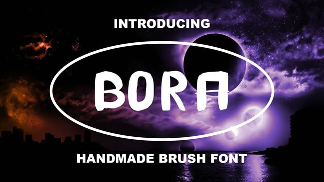 Print on Demand: Bora Display Font By Only The Originals - Image 1