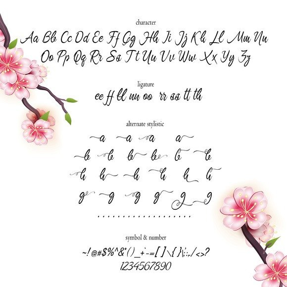Print on Demand: Brightlight Script & Handwritten Font By Byuly Ayika - Image 3