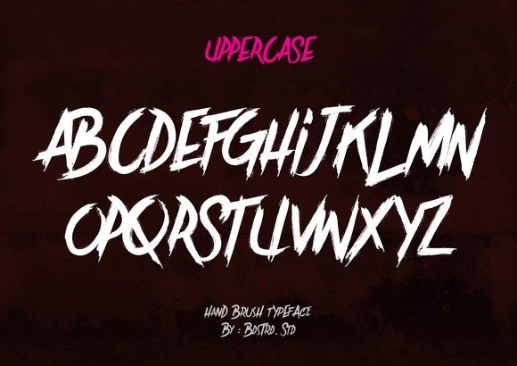 Print on Demand: Brother in Crime Display Font By Bdstrd Std - Image 2