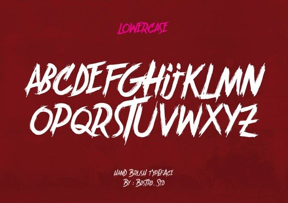 Print on Demand: Brother in Crime Display Font By Bdstrd Std - Image 3