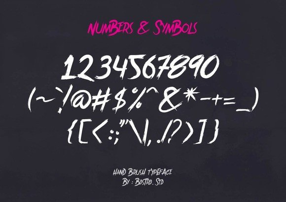 Print on Demand: Brother in Crime Display Font By Bdstrd Std - Image 4
