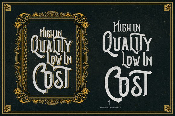 Print on Demand: Brutus Display Font By Ndroadv - Image 6