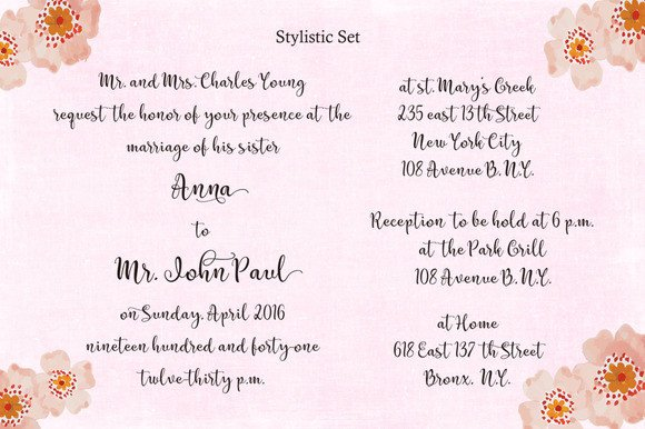 Print on Demand: Catherine Script & Handwritten Font By Byuly Ayika - Image 5