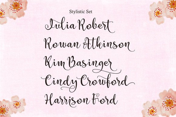 Print on Demand: Catherine Script & Handwritten Font By Byuly Ayika - Image 6