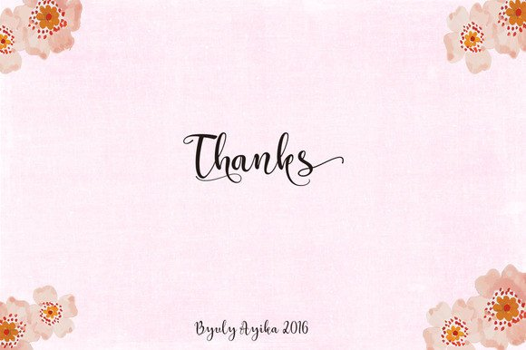 Print on Demand: Catherine Script & Handwritten Font By Byuly Ayika - Image 9