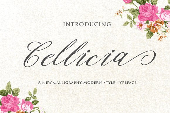 Print on Demand: Cellicia Script & Handwritten Font By Ian Mikraz - Image 1