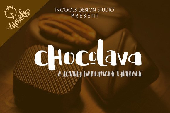 Chocolava Font By Incools Design Studio