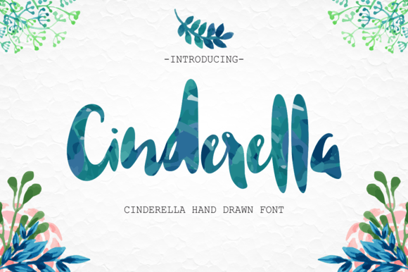 Print on Demand: Cinderella Script & Handwritten Font By BonjourType