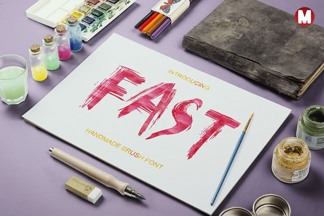 Print on Demand: Fast Display Font By Only The Originals