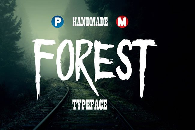Print on Demand: Forest Display Font By Only The Originals