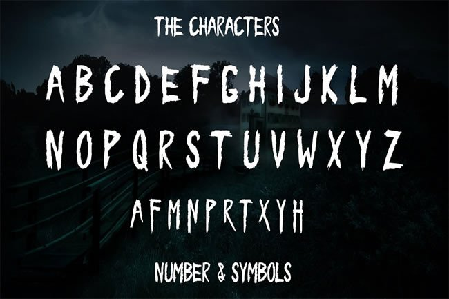 Print on Demand: Forest Display Font By Only The Originals - Image 5