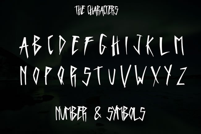 Print on Demand: Hake Display Font By Only The Originals - Image 2