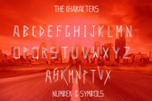 Print on Demand: Heba Display Font By Only The Originals - Image 4