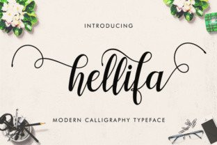 Hellifa by Barland Font Subscription 1