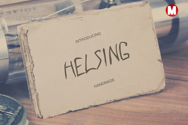 Helsing Font By Only The Originals