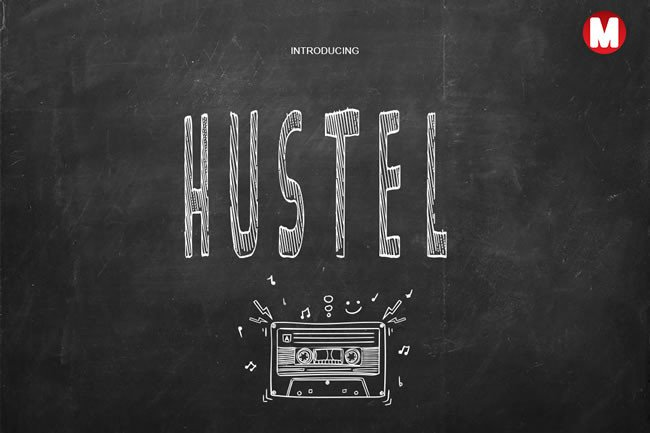 Hustel Font By Only The Originals