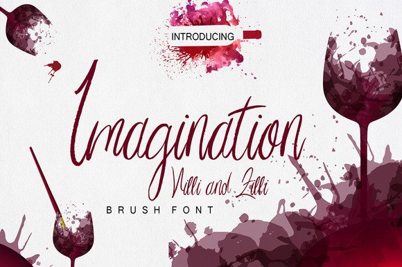 Print on Demand: Imagination Script & Handwritten Font By Only The Originals - Image 1