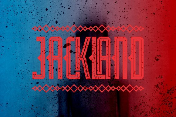 Print on Demand: Jackland Display Font By Ijem RockArt - Image 1