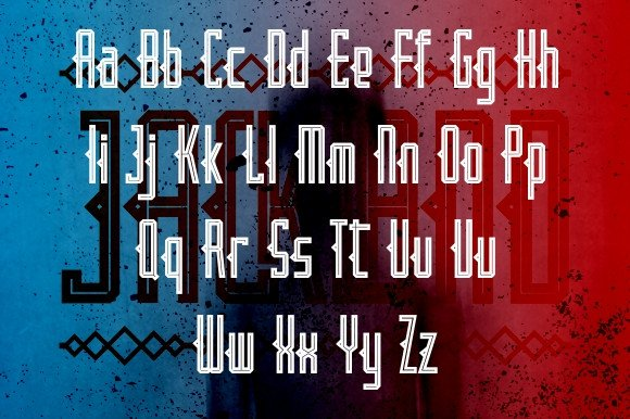 Print on Demand: Jackland Display Font By Ijem RockArt - Image 6