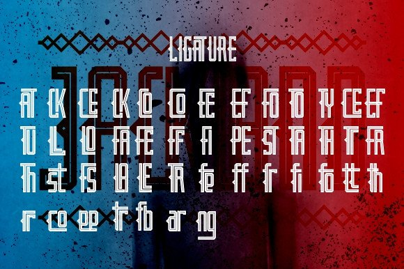 Print on Demand: Jackland Display Font By Ijem RockArt - Image 8