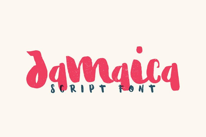 Print on Demand: Jamaica Script & Handwritten Font By Noe Araujo