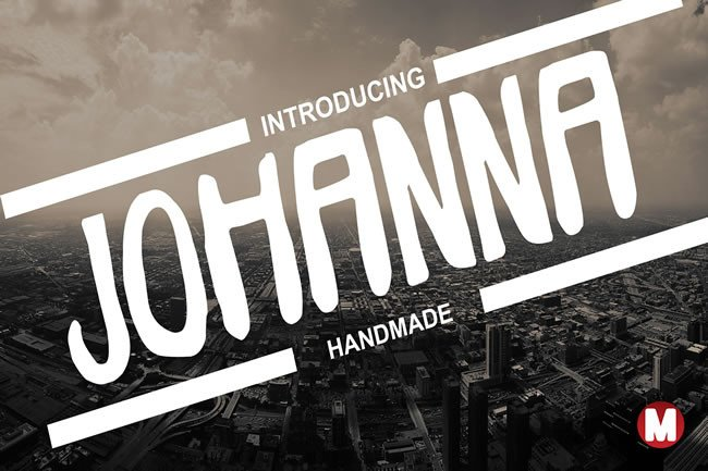 Print on Demand: Johanna Display Font By Only The Originals