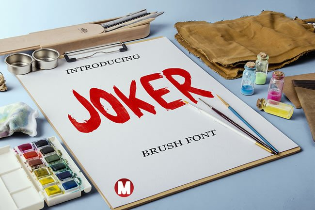 Print on Demand: Joker Display Font By Only The Originals