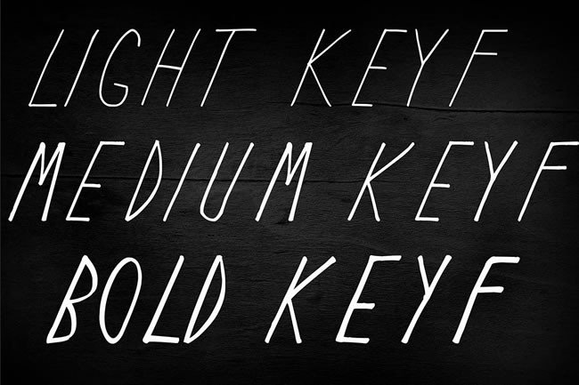 Print on Demand: Keyf Display Font By Only The Originals - Image 2