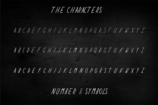 Print on Demand: Keyf Display Font By Only The Originals - Image 4