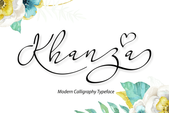 Print on Demand: Khanza Script & Handwritten Font By BonjourType