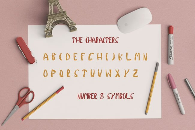 Print on Demand: Kind Display Font By Only The Originals - Image 3