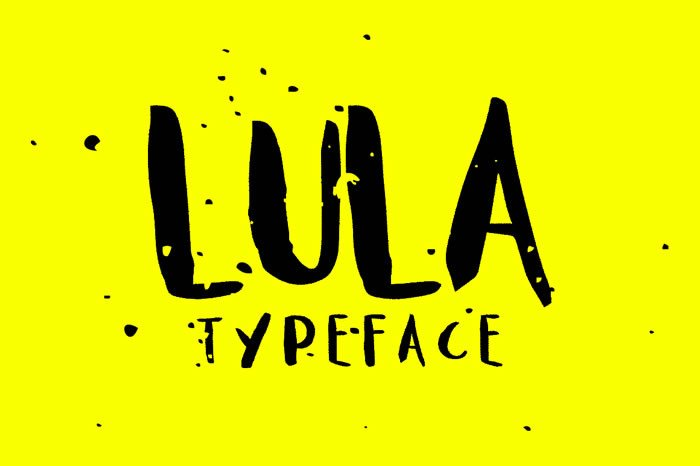 Print on Demand: Lula Display Font By Noe Araujo