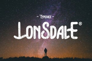 Lonsdale font by Giemons in Font Subscription 1