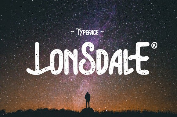 Lonsdale Font By Giemons